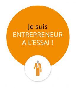 je suis entrepreneur a l'essai !