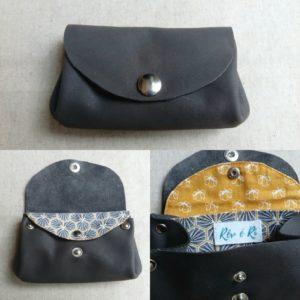 Porte-monnaie cuir sans couture GF1 rev e ri bge store