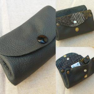 Porte-monnaie cuir sans couture N1 rev e ri bge store