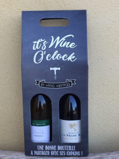coffret noel les secrets du vin ludivine crammer bge store 25 vin blanc rouge